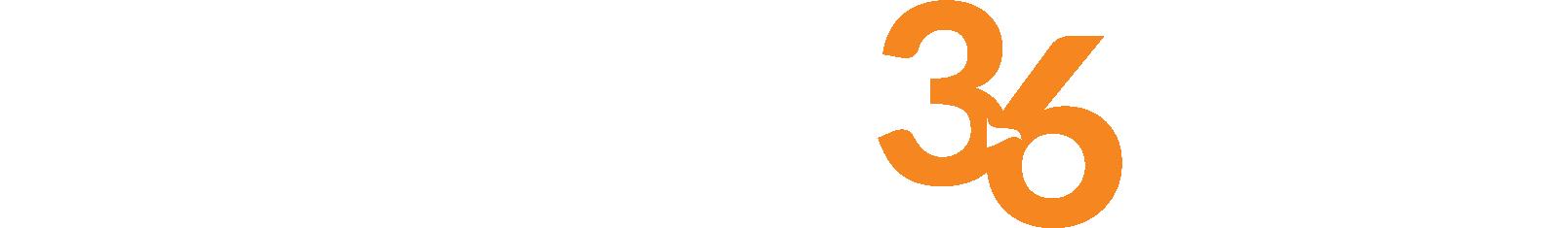 Operation 36 logo white and orange horizontal