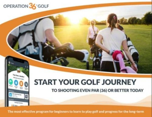 Start your golf journey graphic