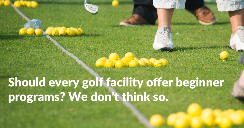 Should Every Golf Facility offer beginner programs article image