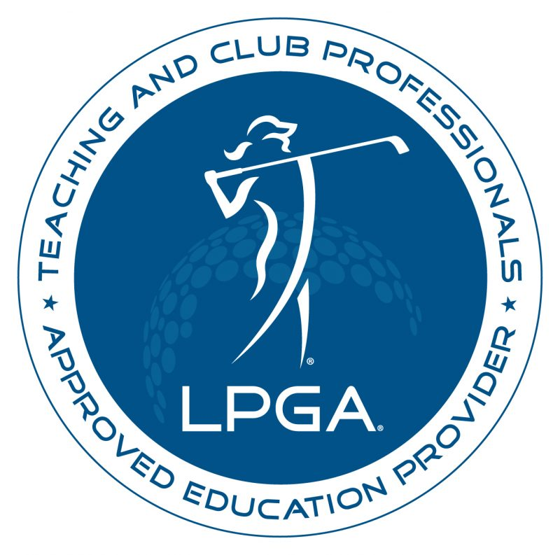 LPGA Teaching and Club Professionals Approved Education Provider Logo