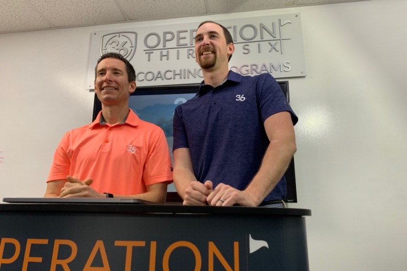 Partnership announce between Operation 36 Golf and Youth on Course