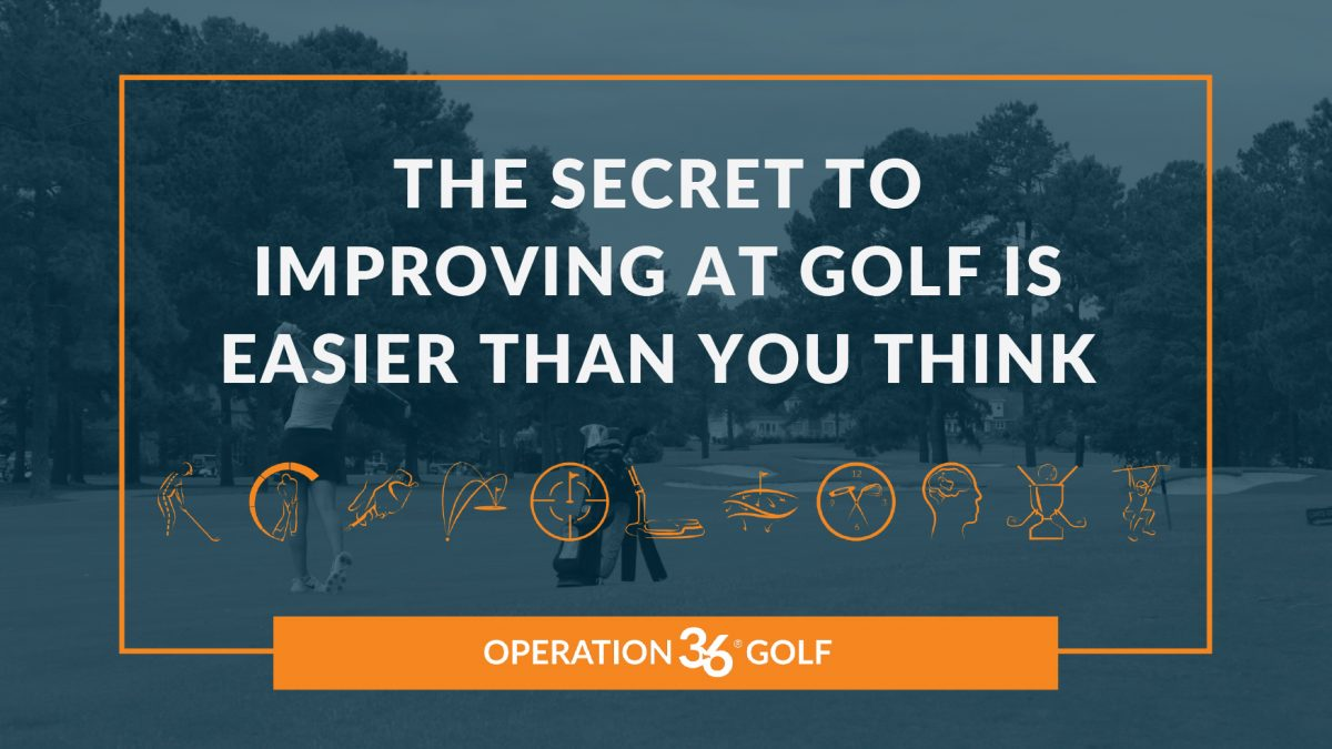 The Secret To Improving At Golf Is Easier Than You Think article image