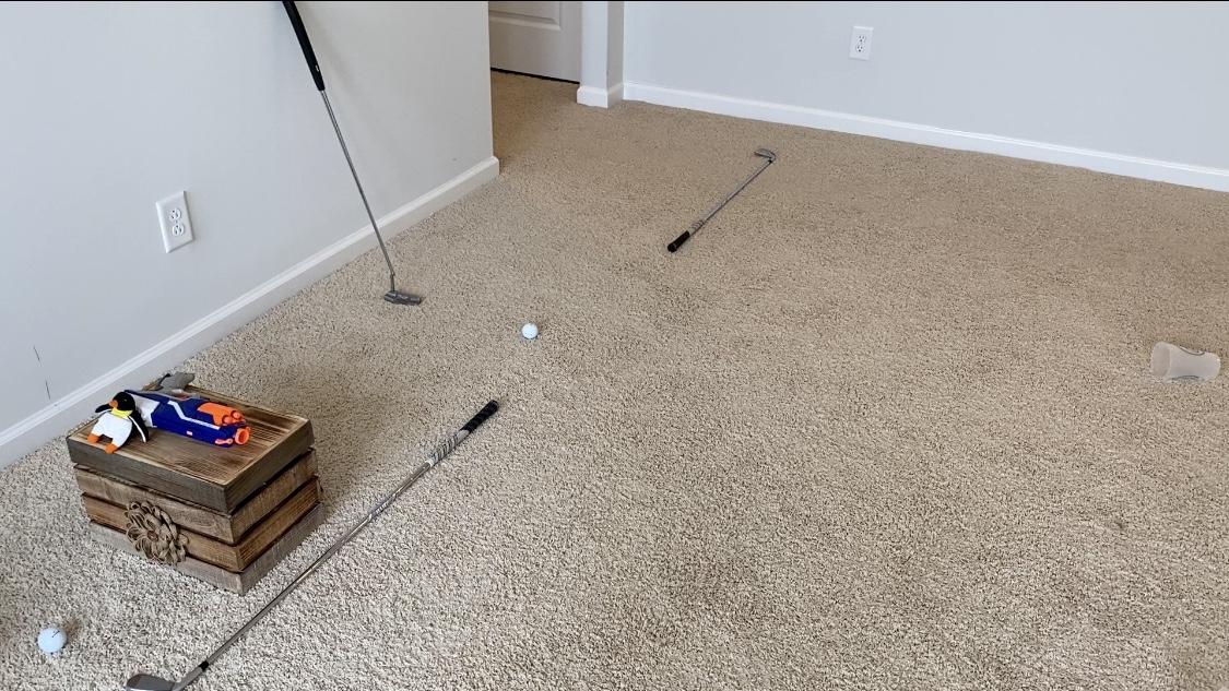 #GolfAtHome Challenge 2 Header