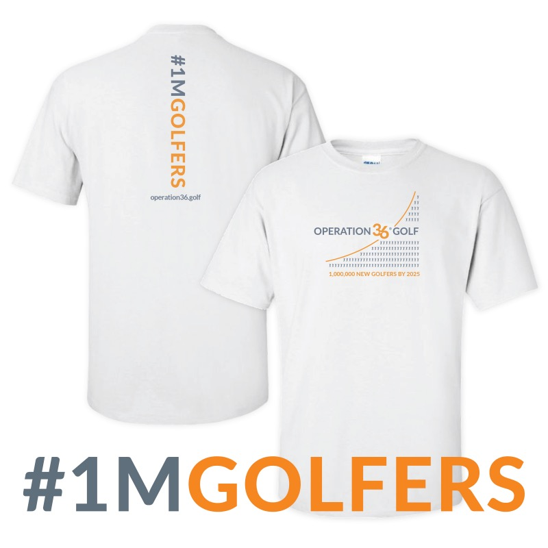#1inaMillion t-shirt graphic