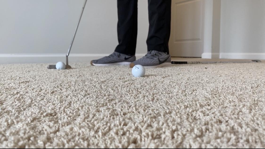 #GolfAtHome Challenge 5 Header