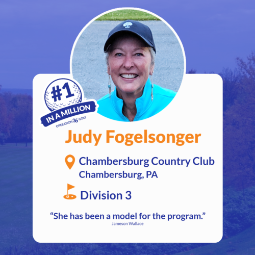 Judy Fogelsonger #1inaMillion