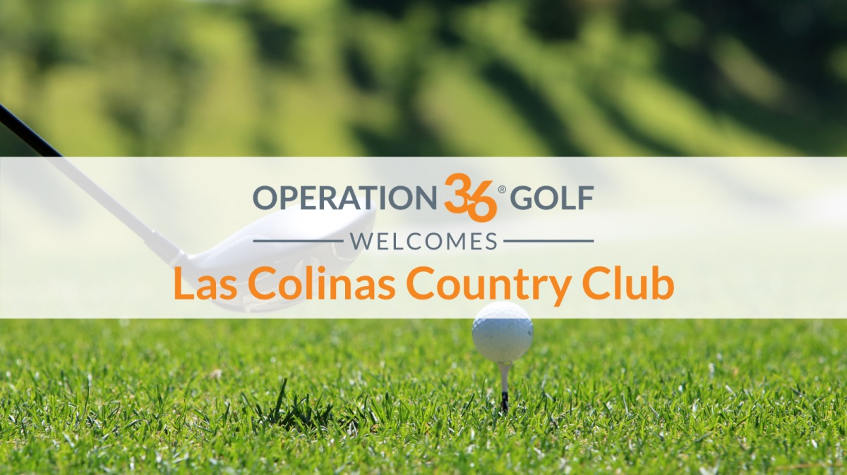 Operation 36 Golf Welcome Las Colinas Country Club