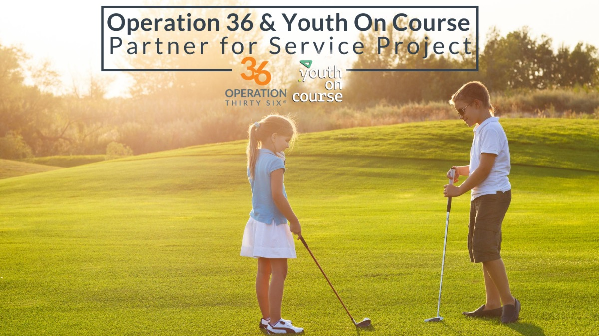 Operation 36 Golf Partners With Youth On Course