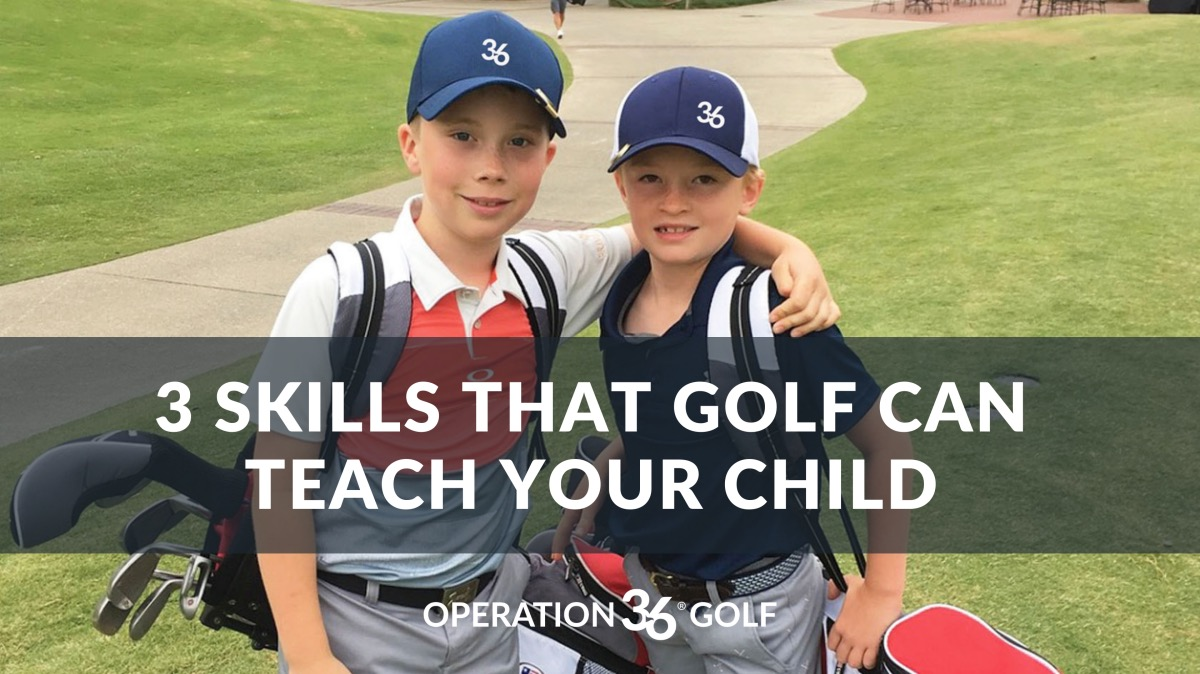 3 Skills That Golf Can Teach Your Child article image
