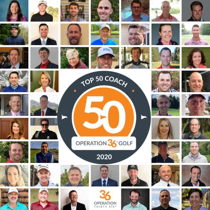 2020 Operation 36 Top 50 Coaches Announcement Collage