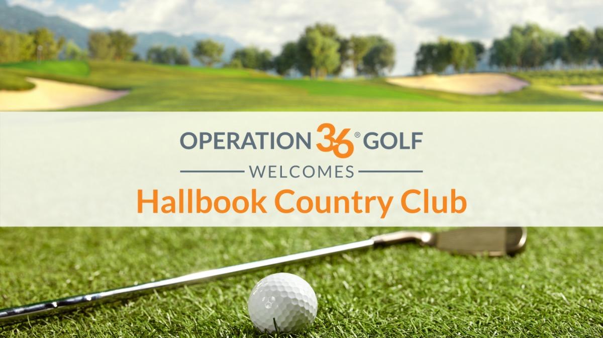 Operation 36 Golf Developmental Program Welcomes Hallbrook Country Club