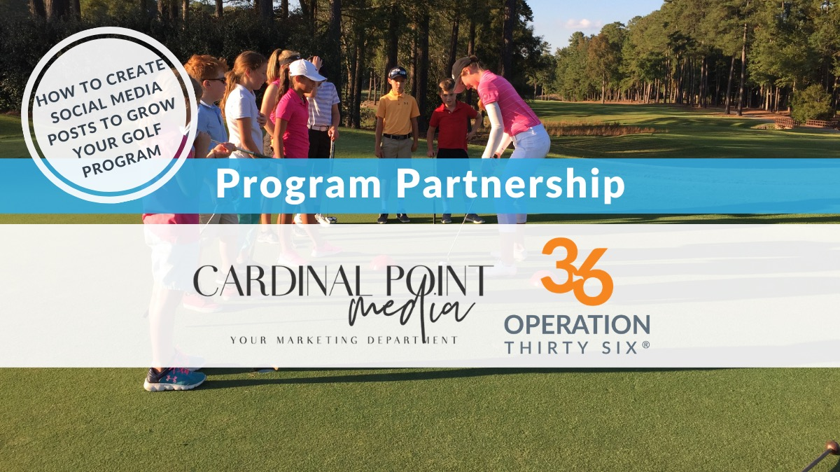 Operation 36 Launches Free Partner Video Course with Cardinal Point Media