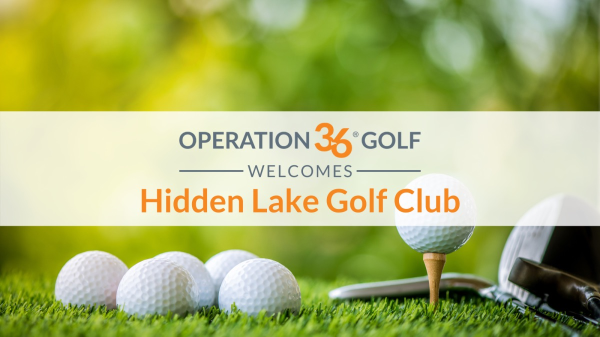 Operation 36 Golf Developmental Program Welcomes Hidden Lake Golf Club