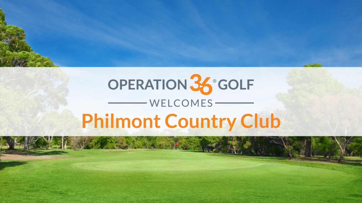 Operation 36 Golf Developmental Program Welcomes Philmont Country Club