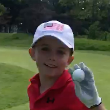 #1inaMillion Golfer Blake Gregory
